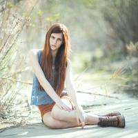 Csinos  lány felvétele
