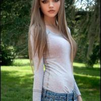 Csinos  nő felvétele