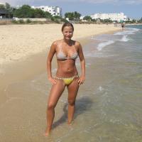Ellenállhatatlan bikinis bige képe