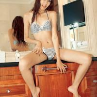 Szexi ázsiai leányzó felvétele
