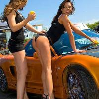 Napi leszbi cicusok – Autómosás